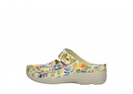 wolky slippers 06227 roll slipper 12910 white multi nubuck_2