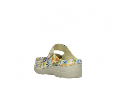 wolky slippers 06227 roll slipper 12910 white multi nubuck_5