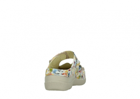 wolky slippers 06227 roll slipper 12910 white multi nubuck_8