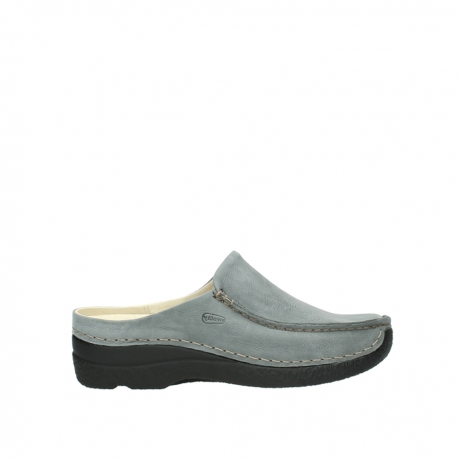 wolky slippers 06250 seamy slide 10220 smog nubuck