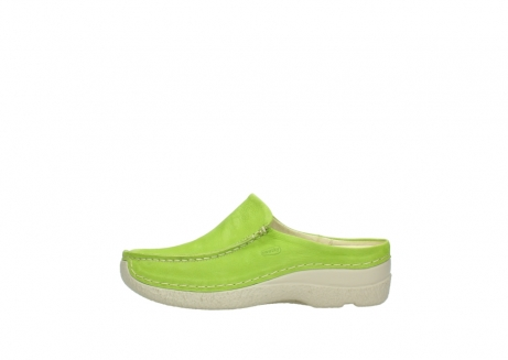 wolky slippers 06250 seamy slide 10750 lime nubuck_1