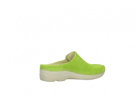 wolky slippers 06250 seamy slide 10750 lime nubuck_11