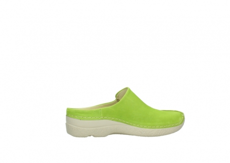 wolky slippers 06250 seamy slide 10750 lime nubuck_12
