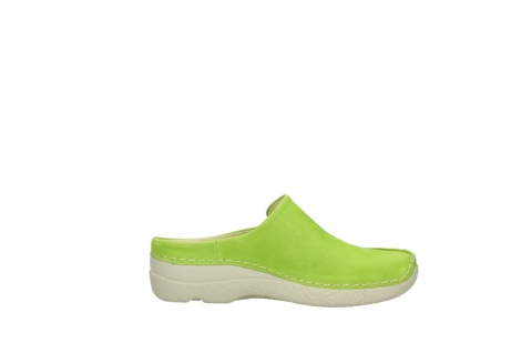 wolky slippers 06250 seamy slide 10750 lime nubuck_13
