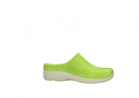 wolky slippers 06250 seamy slide 10750 lime nubuck_14