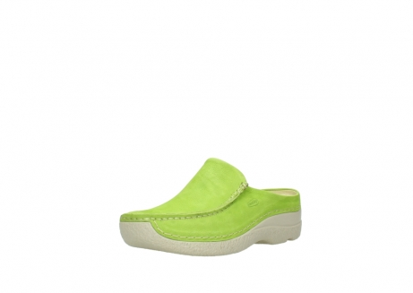 wolky slippers 06250 seamy slide 10750 lime nubuck_22