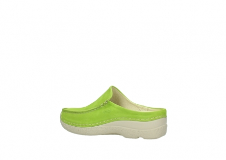 wolky slippers 06250 seamy slide 10750 lime nubuck_3