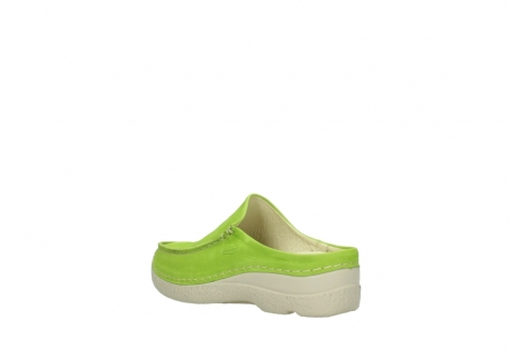 wolky slippers 06250 seamy slide 10750 lime nubuck_4