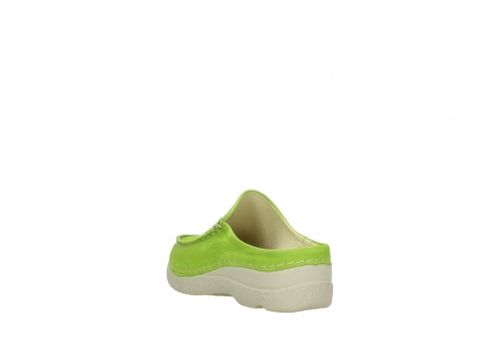 wolky slippers 06250 seamy slide 10750 lime nubuck_5