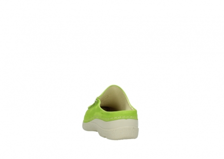 wolky slippers 06250 seamy slide 10750 lime nubuck_6