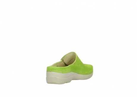 wolky slippers 06250 seamy slide 10750 lime nubuck_9