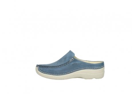 wolky slippers 06250 seamy slide 10820 denim blauw nubuck_1