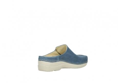 wolky slippers 06250 seamy slide 10820 denim blauw nubuck_10