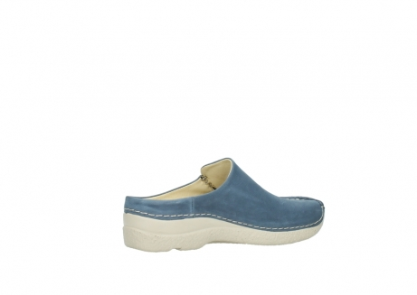 wolky slippers 06250 seamy slide 10820 denim blauw nubuck_11