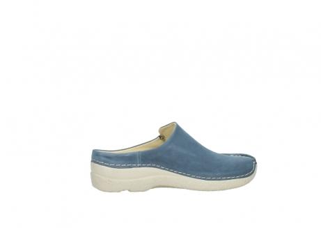 wolky slippers 06250 seamy slide 10820 denim blauw nubuck_12