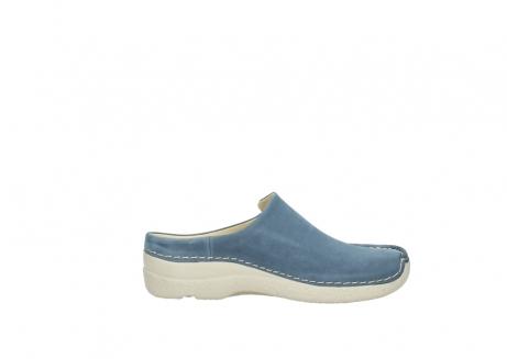 wolky slippers 06250 seamy slide 10820 denim blauw nubuck_13