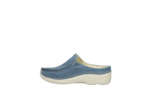 wolky slippers 06250 seamy slide 10820 denim blauw nubuck_2