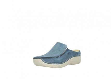 wolky slippers 06250 seamy slide 10820 denim blauw nubuck_22