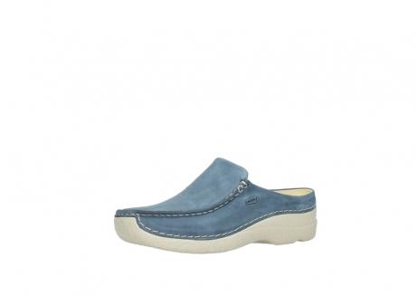 wolky slippers 06250 seamy slide 10820 denim blauw nubuck_23