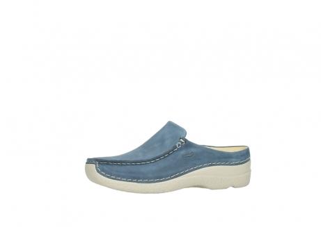 wolky slippers 06250 seamy slide 10820 denim blauw nubuck_24