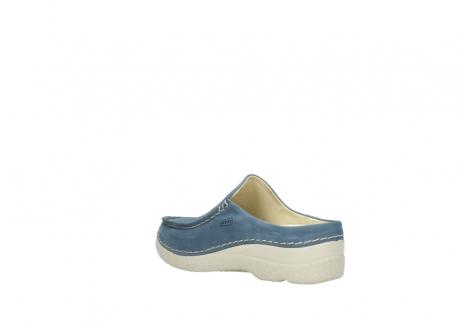 wolky slippers 06250 seamy slide 10820 denim blauw nubuck_4
