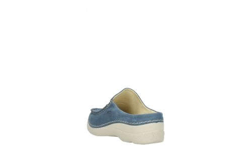 wolky slippers 06250 seamy slide 10820 denim blauw nubuck_5