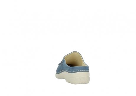 wolky slippers 06250 seamy slide 10820 denim blauw nubuck_6