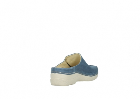 wolky slippers 06250 seamy slide 10820 denim blauw nubuck_9