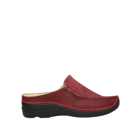 wolky slippers 06250 seamy slide 11530 bordeaux nubuck