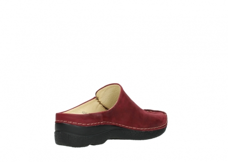 wolky slippers 06250 seamy slide 11530 bordeaux nubuck_10