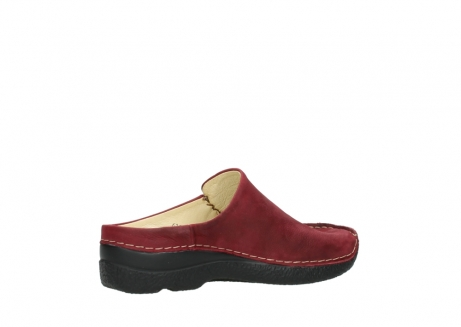 wolky slippers 06250 seamy slide 11530 bordeaux nubuck_11