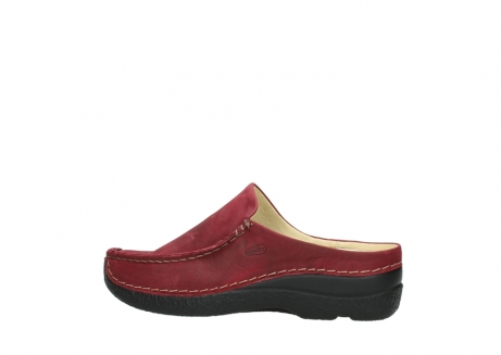 wolky slippers 06250 seamy slide 11530 bordeaux nubuck_2