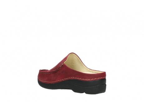 wolky slippers 06250 seamy slide 11530 bordeaux nubuck_4