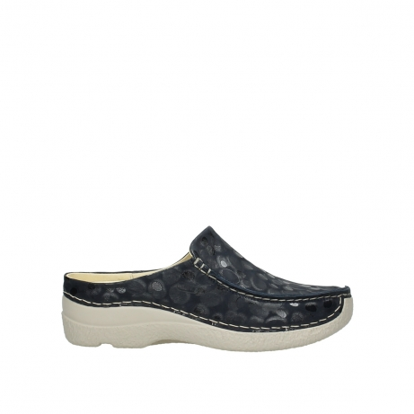 wolky slippers 06250 seamy slide 12820 denim nubuck