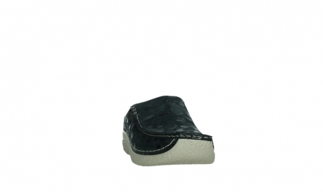 wolky slippers 06250 seamy slide 12820 denim nubuck_6