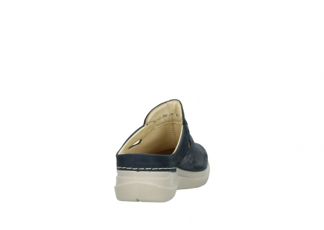 wolky slippers 06600 holland 19870 blue nubuck_8