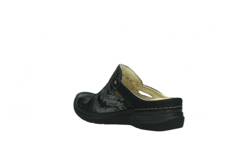 wolky slippers 06600 holland 17000 black suede_16