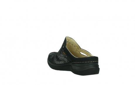 wolky slippers 06600 holland 17000 black suede_17