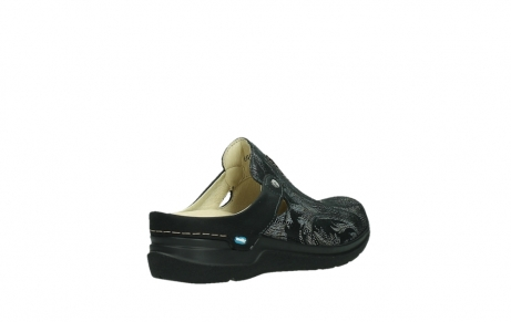 wolky slippers 06600 holland 17000 black suede_22