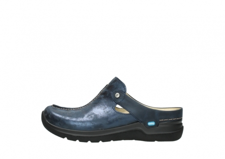 wolky slippers 06600 holland 19800 blauw nubuck_1