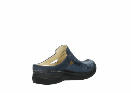 wolky slippers 06600 holland 19800 blauw nubuck_10