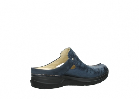 wolky slippers 06600 holland 19800 blauw nubuck_11