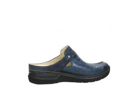 wolky slippers 06600 holland 19800 blauw nubuck_12