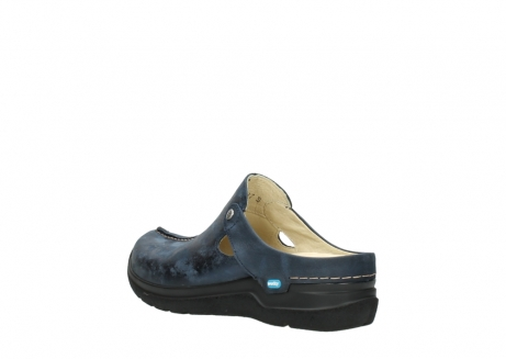 wolky slippers 06600 holland 19800 blauw nubuck_4