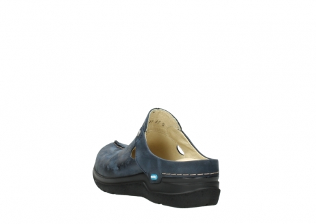 wolky slippers 06600 holland 19800 blauw nubuck_5