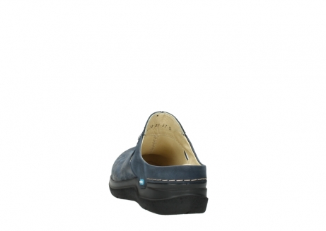 wolky slippers 06600 holland 19800 blauw nubuck_6
