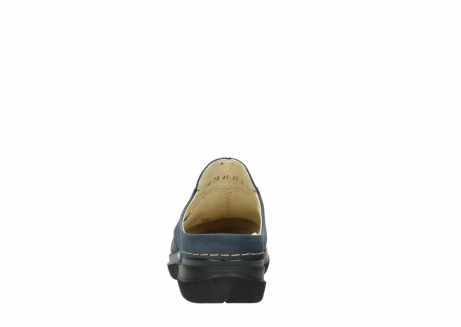 wolky slippers 06600 holland 19800 blauw nubuck_7