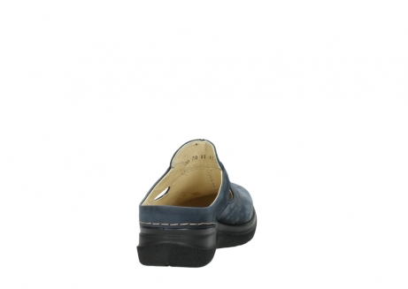 wolky slippers 06600 holland 19800 blauw nubuck_8