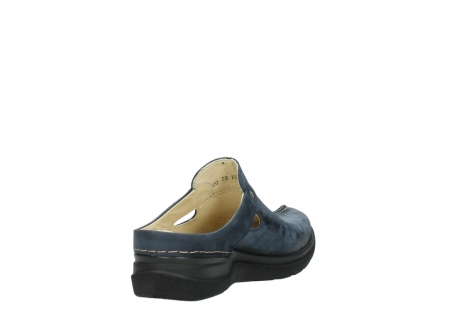 wolky slippers 06600 holland 19800 blauw nubuck_9