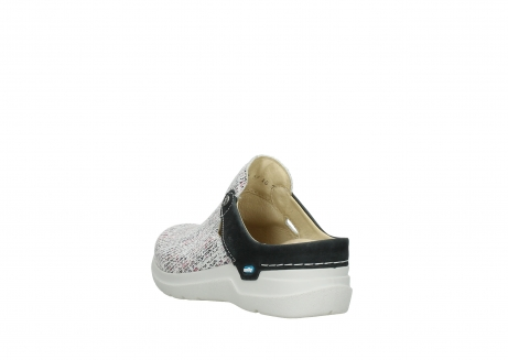 wolky slippers 06600 holland 41970 black multi suede_5
